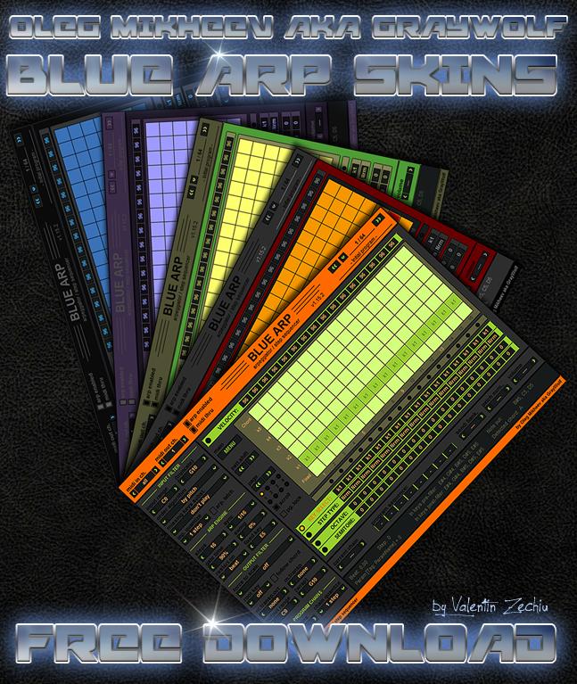 BlueARP skins by Valentin Zechiu