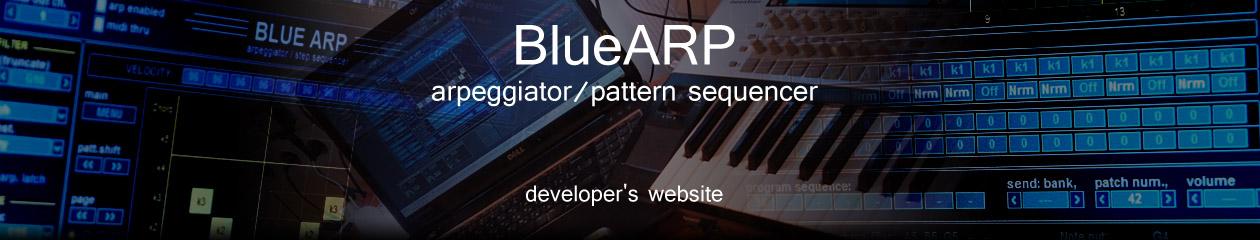 BlueARP – arpeggiator / pattern sequencer